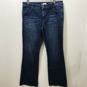 Cabi Jeans Size 10 Bootcut Jeans Style  #511 Dark